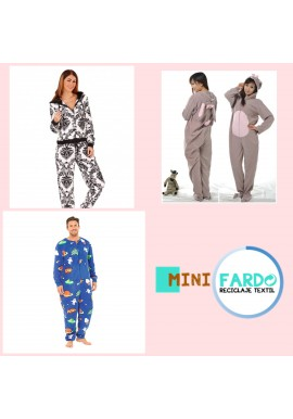 Pack pijamas adultos y niños