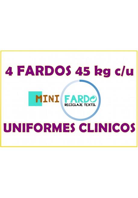 4 fardos Uniformes clinicos
