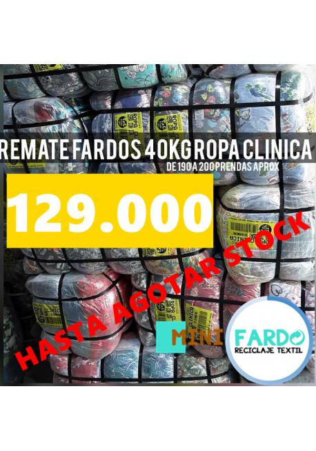 FARDO ROPA CLINICA 40KG